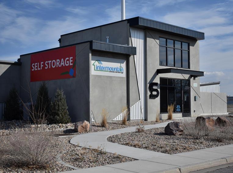 storage unit with wind turbine energy efficient self storage great price rent self storage Salt lake city West Valley Storage office Intermountain Commercial Storage Self Storage